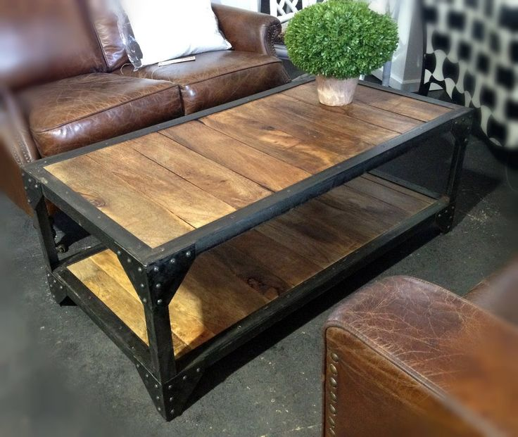 Rustic Industral Bathchlor Interior Design: 17 Best Ideas About Industrial Coffee Tables On Pinterest