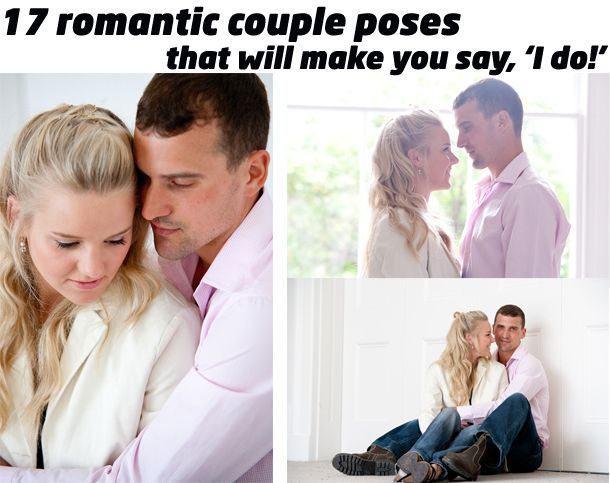 "17 romantic couple poses that will make you say, ""I do!"": how to capture chemistry on camera and how to make it fun.Capture Chemistry, 17 Romantic, Romantic Couples, Pictures Poses, Couples Photography, Portraits Photography, Photography Poses, Couples Poses, Couples Photos"
