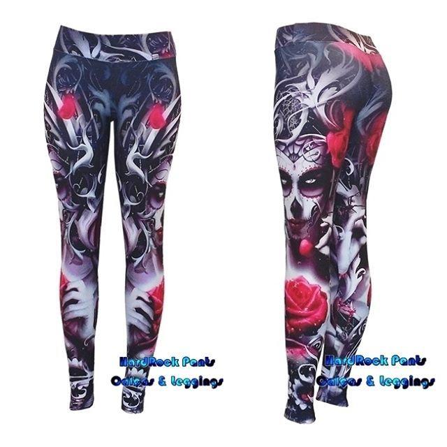Legging 3D La Catrina | Produto exclusivo - PRONTA ENTREGA | Exclusive design by HardRock Pants | hardrockpants.loja2.com.br | facebook.com/hardrockpants | pinterest.com/hardrockpants |#calça #legging #estampada #Catrina #caveira #caveirinhas #rosas #vermelhas #flores #florida #moda #feminina #alternativa #exclusiva #CinturaAlta #printed #leggings #skull #roses #HardRockPants