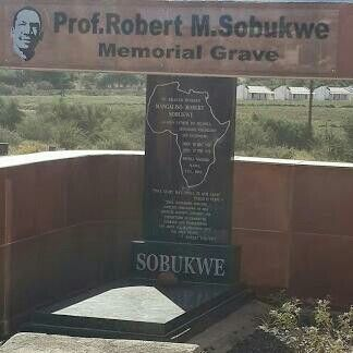 One of the greatest sons South Africa has ever been gifted with #Prof Robert M. Sobukwe