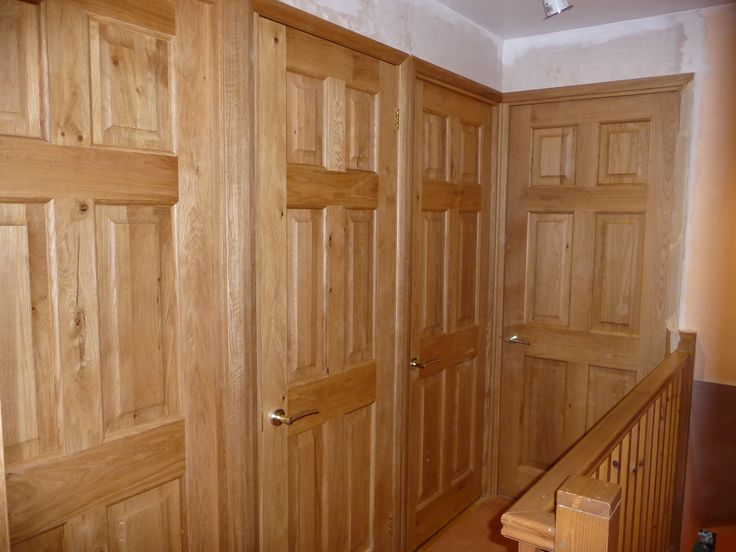 Victorian 6 Panel Solid Oak Door