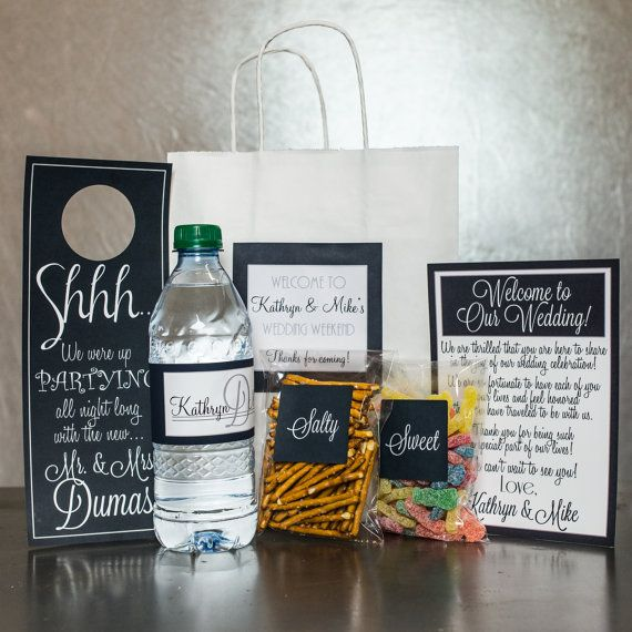 ... Welcome bags, Wedding welcome baskets and Wedding hotel bags