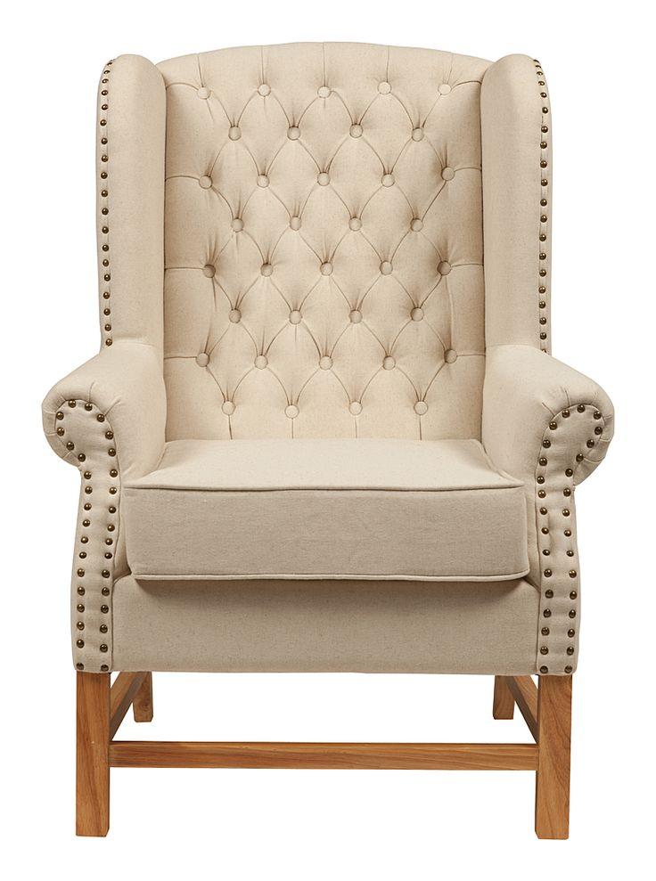 Метки: Кресла для дома, Кресла с высокой спинкой, Кресло для отдыха.              Материал: Ткань, Дерево.              Бренд: DG Home.              Стили: Классика и неоклассика, Лофт.              Цвета: Бежевый, Белый.