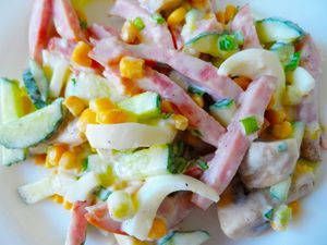 Фото к рецепту: Итальянский салат
