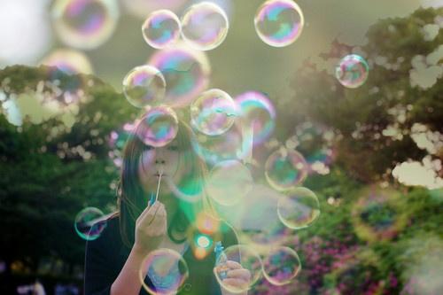 tiny bubbles
