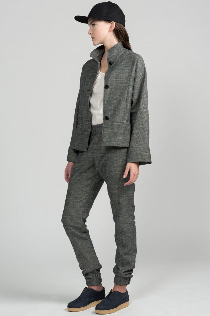 Shutout Jacket by Pillar.  Eco-friendly dolman sleeve jacket.  Made in Canada.