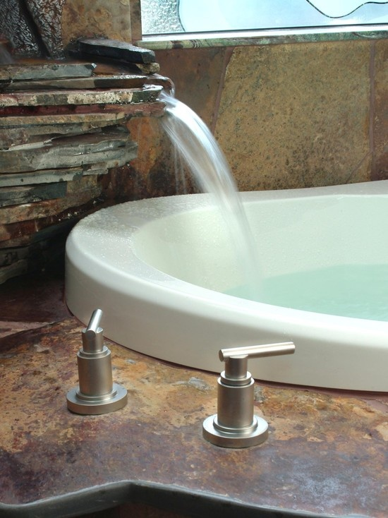 Waterfall Faucet Design, Pictures, Remodel, Decor and Ideas