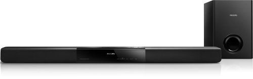 Philips HTL2151/F7 1/2-Inch 2.1-Channel Soundbar with Passive Subwoofer