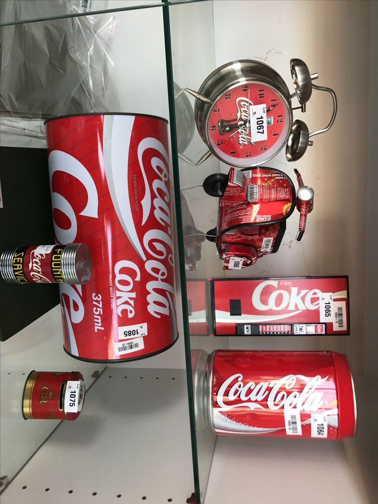 Coca-cola Coke memorabilia at auctionblue this weekend