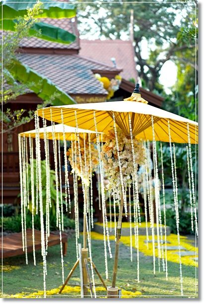 Theme wedding in Thailand.