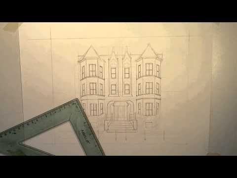 How to draw a Chicago Graystone