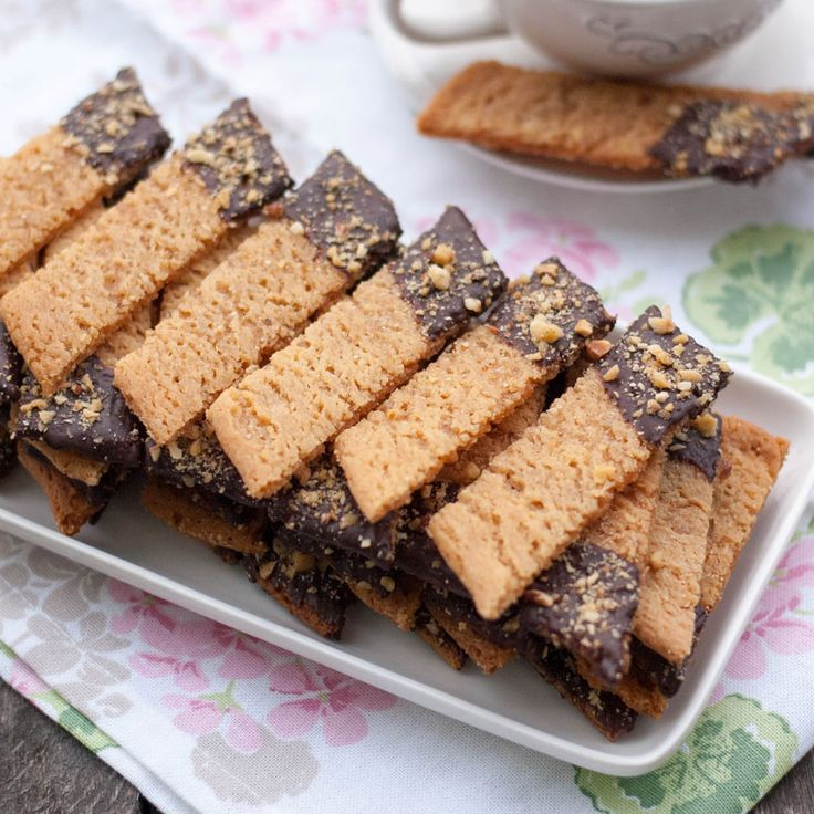 Kolasnittar med choklad och nötter | Tidningen Hembakat
