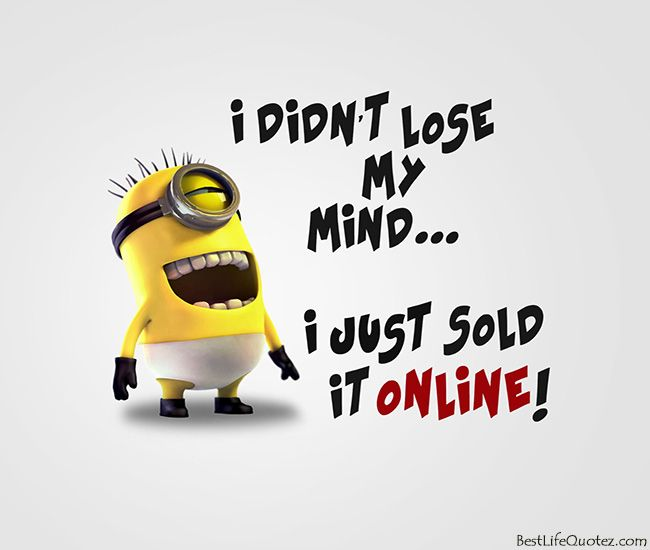 Minions quotes, Funny minion and Minions on Pinterest