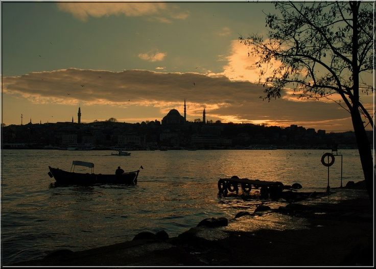 Sunset at the Golden Horn -- Istanbul