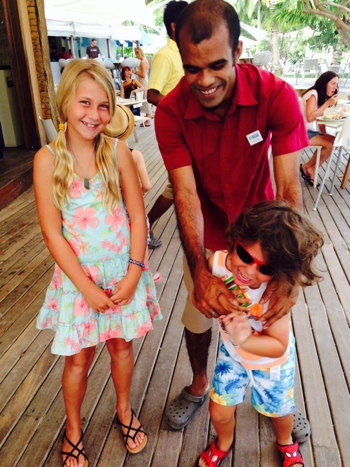 Toa and zyah at Maldives