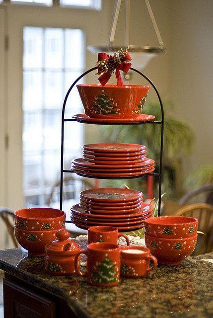 57 Beautiful Christmas Dinnerware Sets: Waechtersbach Christmas Dishes