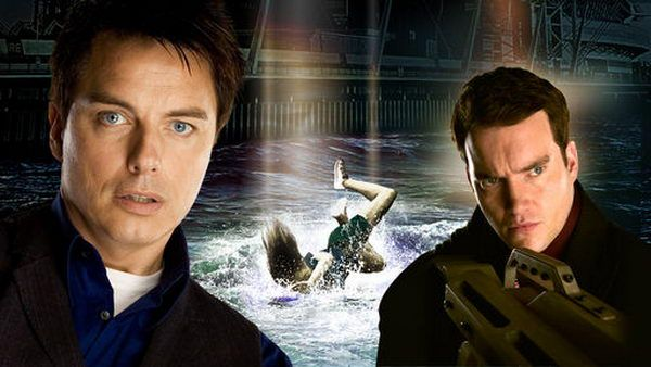 Jack and Ianto in the Asylum
