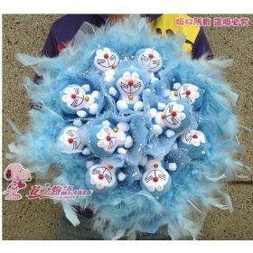 Buy Jingle DORA a doraemon cartoon toys bouquet a birthday present ...