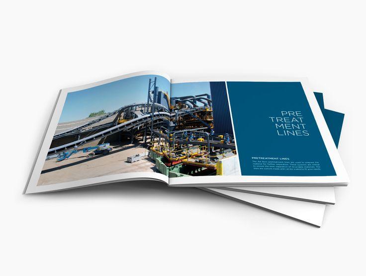 Avondster: binnenwerk - ontwerp brochure voor Ad Rem (recyclage industrie) - Avondster: brochure design / lay-out for Ad Rem (recycling industry)