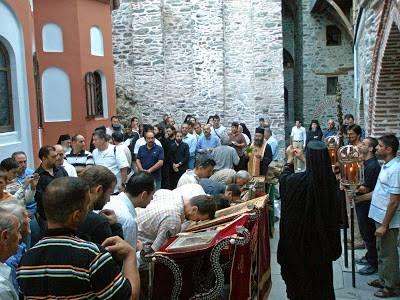 Πανηγυρίζει η Ιερά Μονή Διονυσίου - The Holy Mnostery of Dionysiou celebrates