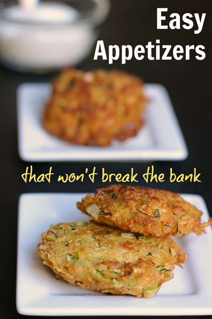 Easy Appetizers that Won't Break the Bank | Good Cheap Eats  Appetizers are a fantastic way to start a meal whether it's a regular night at home or if you're entertaining friends. Try one of these easy appetizers that are easy on the wallet.  http://goodcheapeats.com/2016/08/easy-appetizers/