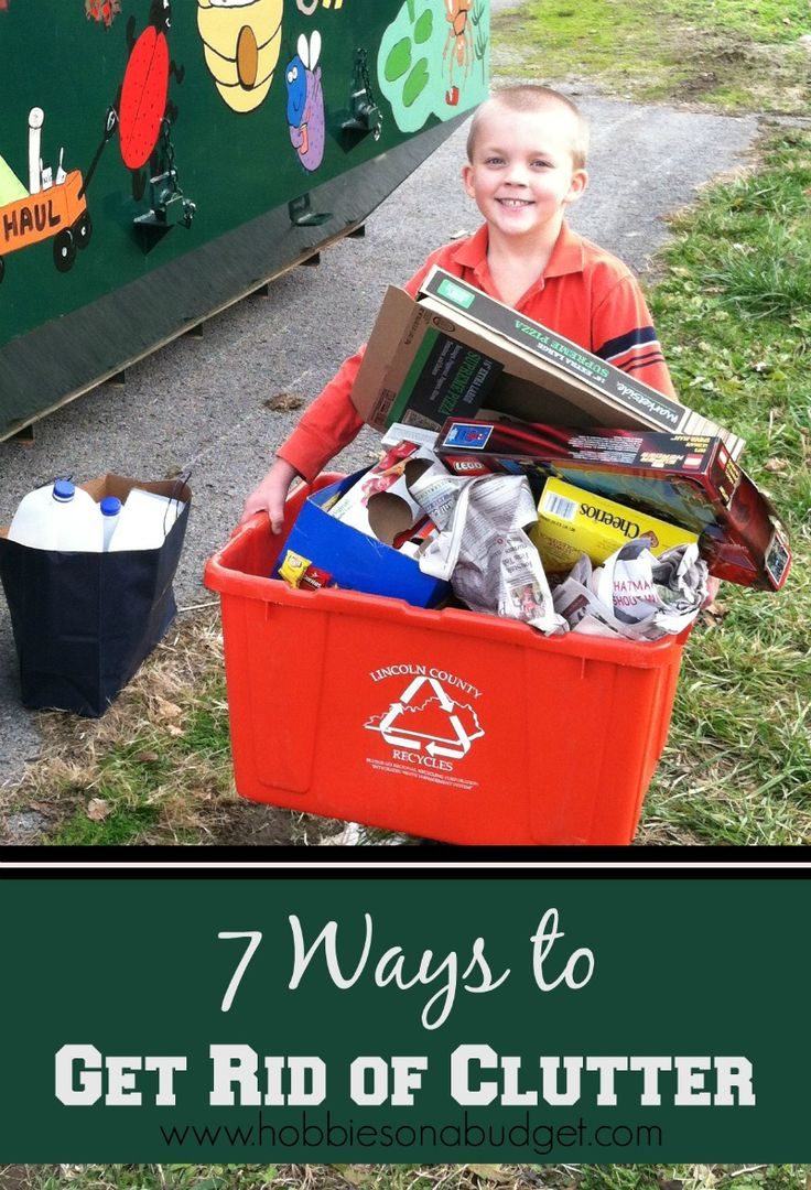 108 best tips for home organization and life images on for Best way to get rid of clutter