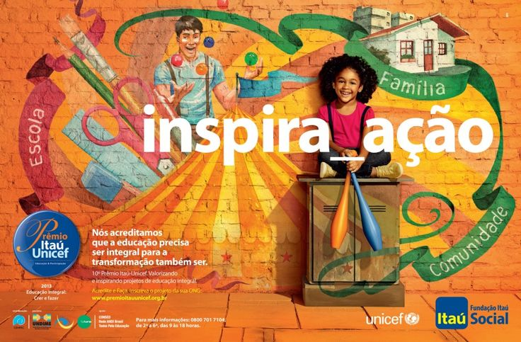 Möve :: Itaú - Prêmio Itaú Unicef