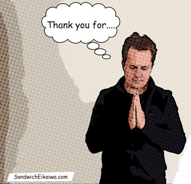 英会話初心者の皆さんにとって、Thank you という英語はよう使うフレーズの1つはないでしょうか?