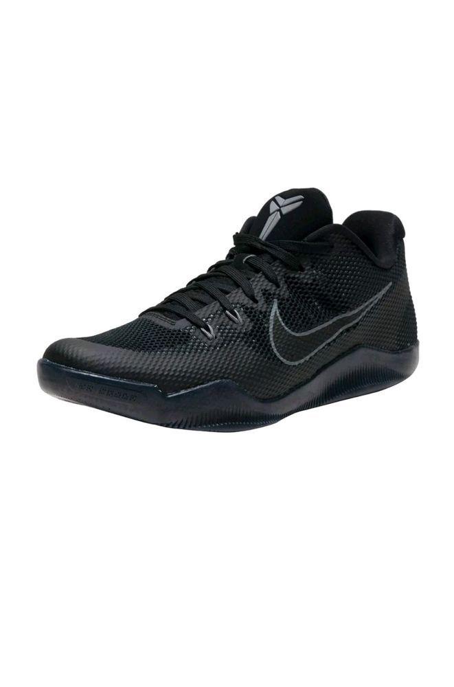 bb93a73628f2 NIKE KOBE XI BLACK BLACK-COOL GREY SIZE 18  836183-001   Nike   BasketballShoes