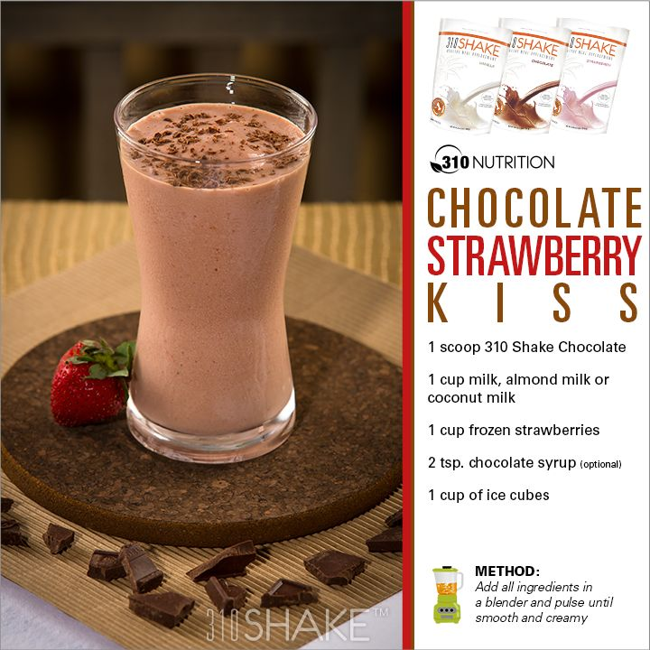 310 shake chocolate strawberry bliss