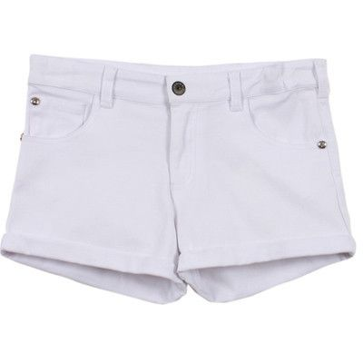 Tahlia by Minihaha girls Miami white shorts
