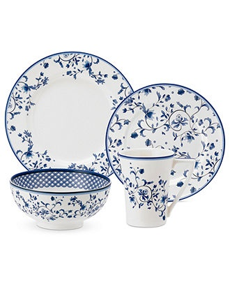 17 Best Images About Blue And White Dinnerware On