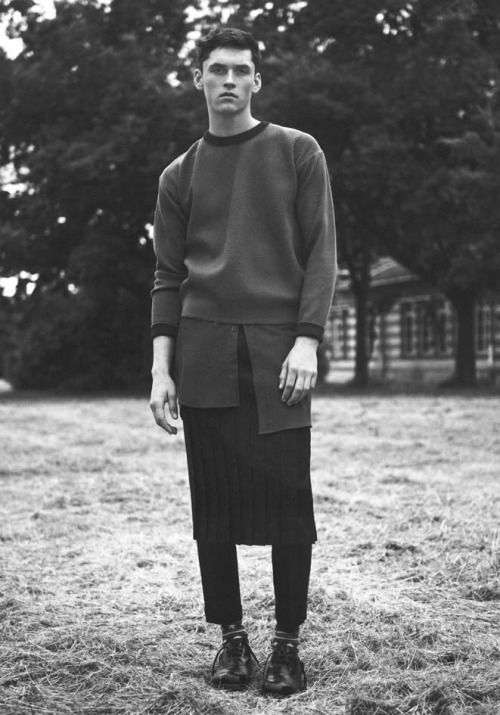 Anders Hayward by Karim Sadli - Man About Town F/W 13