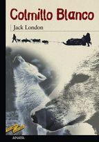 """Colmillo Blanco, el perro-lobo salvaje que no conoce más leyes que las de la naturaleza, irá agudizando sus instintos de ferocidad o violencia a imagen y semejanza de los hombres. """"Si el lobezno hubiera pensado como los hombres —dice London—, habría calificado la vida como un voraz apetito, y el mundo como un caos gobernado por la suerte, la impiedad y el azar en un proceso sin fin."""""""