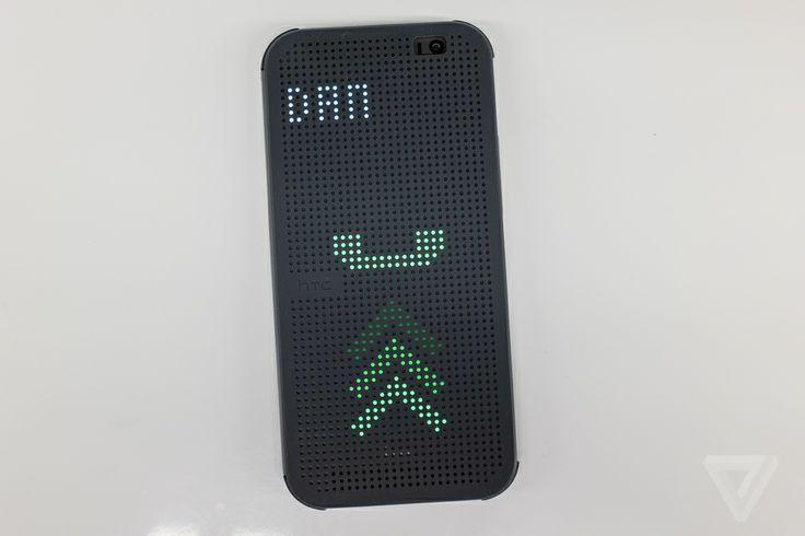 Interactive Dot Matrix HTC Phone Cover