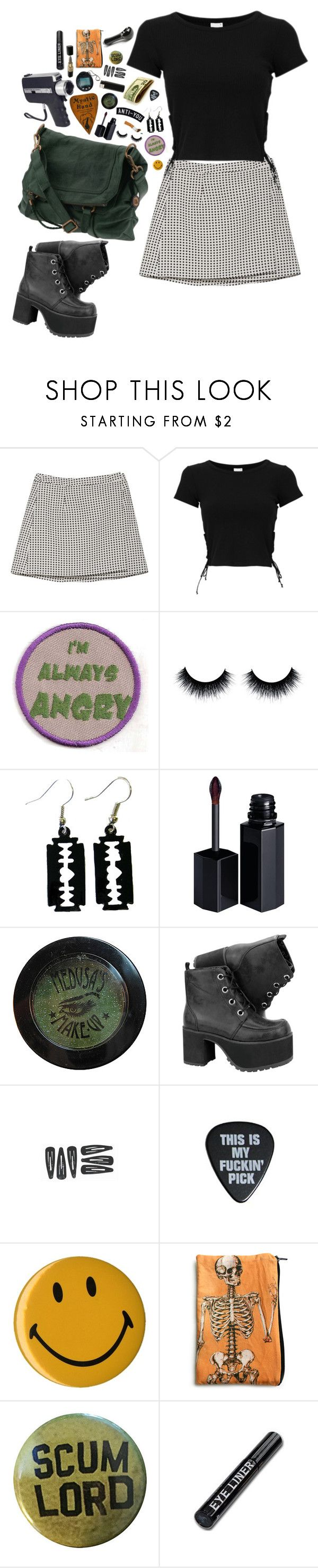 """""""Untitled #220"""" by gabbyortega ❤ liked on Polyvore featuring Joie, The Sak, Serge Lutens and Sourpuss"""