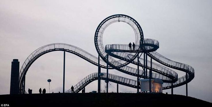 Walkable Rollercoasters - 'Tiger & Turtle -- Magic Mountain' is Interactive (GALLERY)
