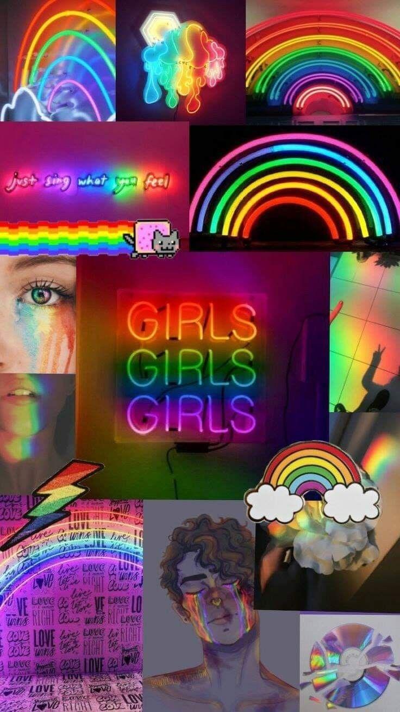 Pin By Sasha Zabelina On Design Inspo Rainbow Wallpaper Iphone