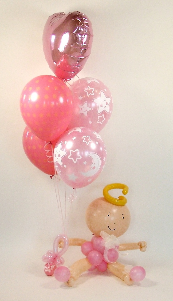63 best images about balloons balloon art balloon decor for Balloon art for baby shower
