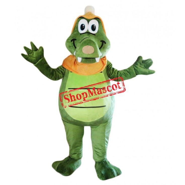 Cheap happy lightweight crocodile mascot costume mascot