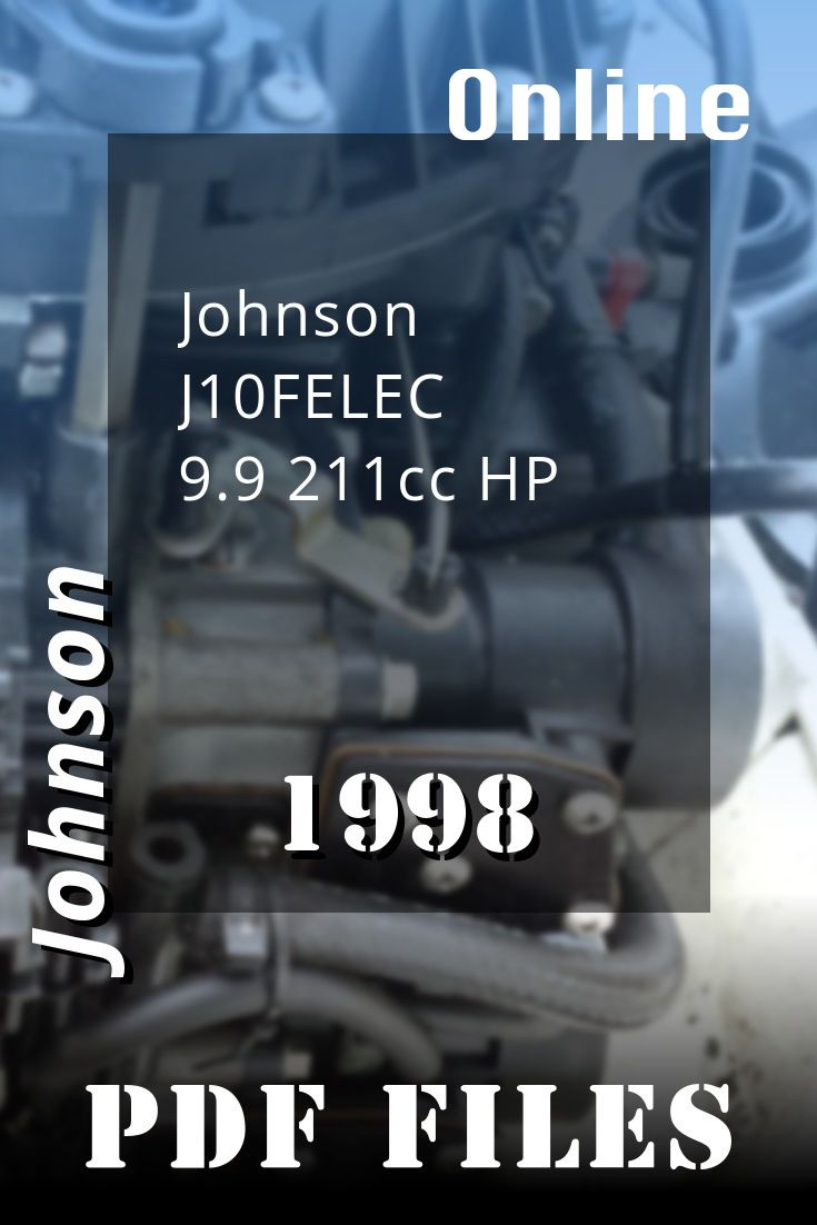 1998 J10felec Johnson 9 9 211cchp Manual Guide