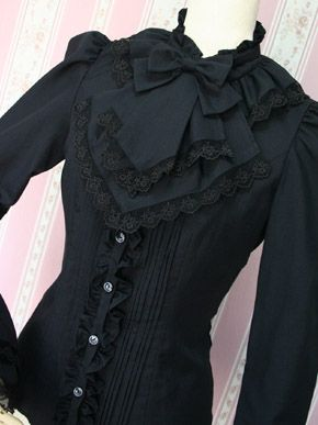 WISH I still had cause to wear such clothing...Victorian maiden Blouse