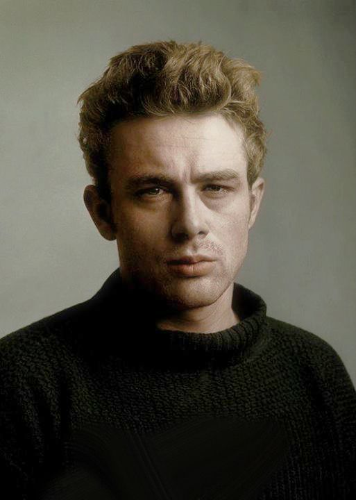 James Dean photography by Roy Schatt 1954 colorized. The quality is impeccable, it seems like your'e actually standing there with him and he is staring back at you. This is simply mesmerizing.