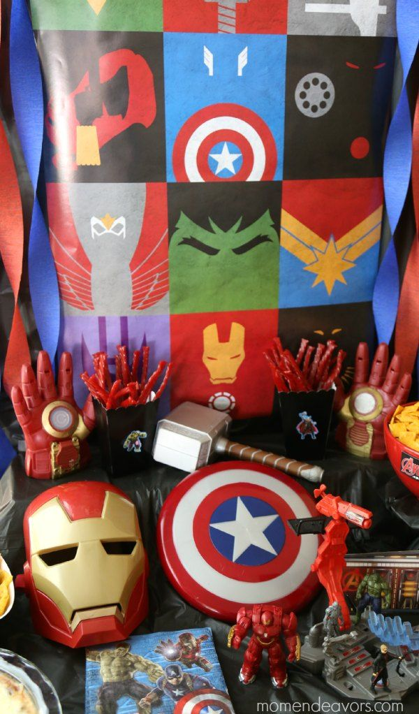 Avengers Party Decor Amp Toys Src 2015 Pinterest