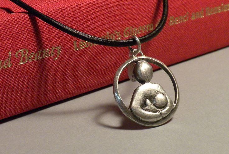 Sterling+Silver+Breastfeeding+Advocacy+Pendant+on+by+melissasciera,+$45.00