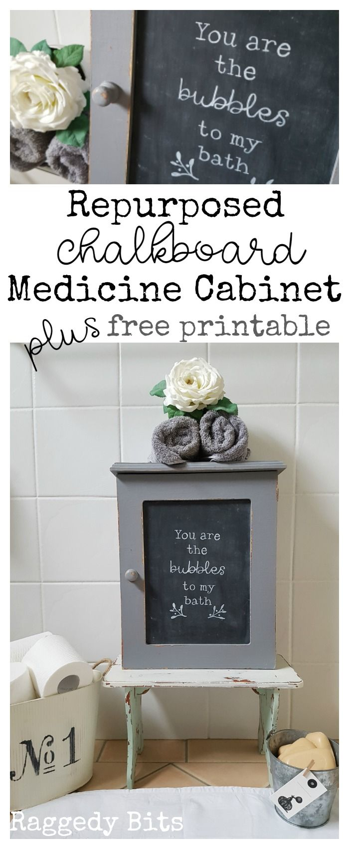 An old Teddy Bear Medicine cabinet that I had painted a long time ago was in…