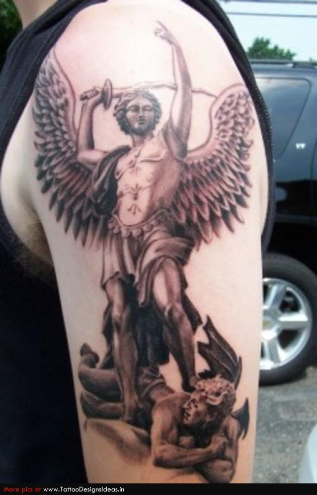 22 best good and evil tattoos images on pinterest evil for Tattoos good or bad bible