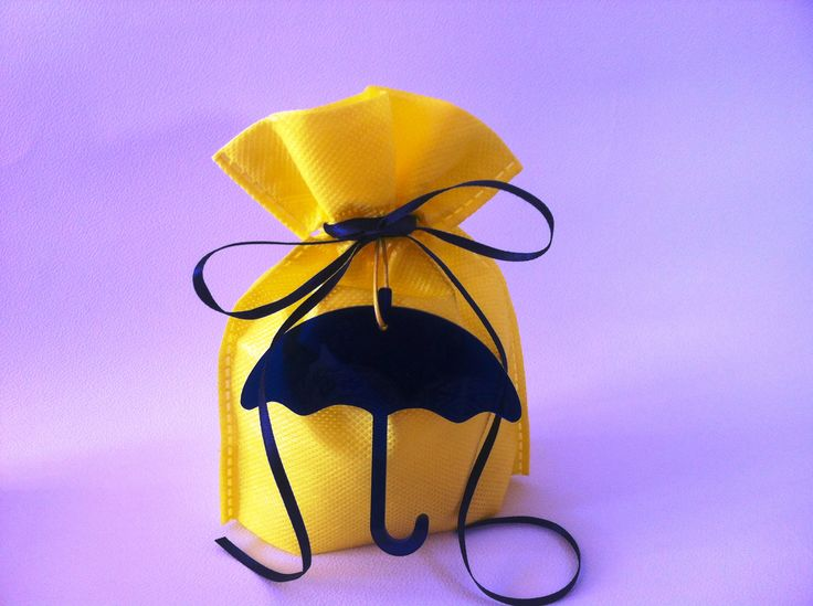Plexiglass Mponmpon umbrella favor for christening! more colors available for you to choose.