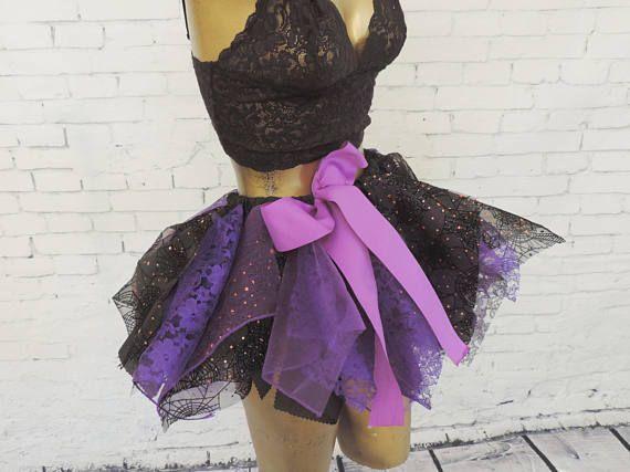 Sexy witch tutu costume adult tutu skirt halloween tutu
