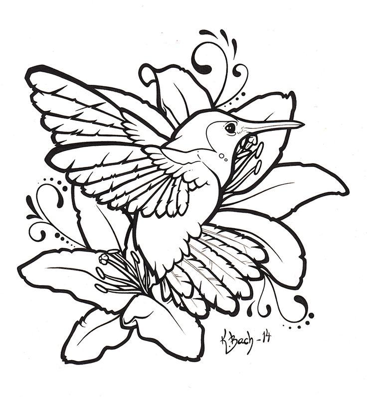 83 best hummingbird images on Pinterest Drawings Hummingbirds